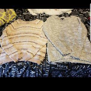 2 American Eagle sweaters